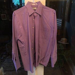 Men's dress shirt with cuffs